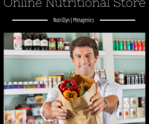 Online Nutritional Store