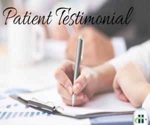 Powerful Patient Testimonial