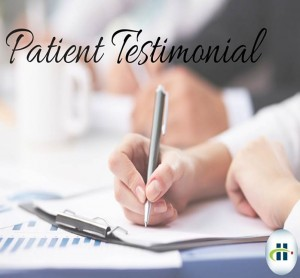Powerful Patient Testimonial